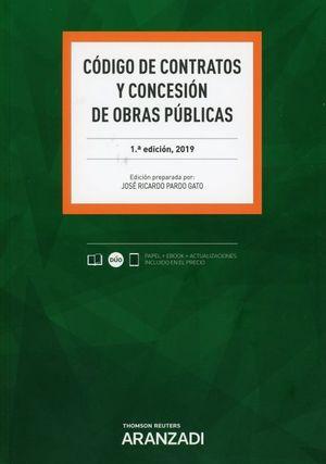 CODIGO DE CONTRATOS Y CONCESION DE OBRAS PUBLICAS