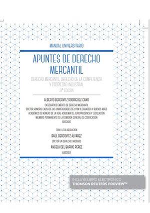 APUNTES DE DERECHO MERCANTIL (PAPEL + E-BOOK)