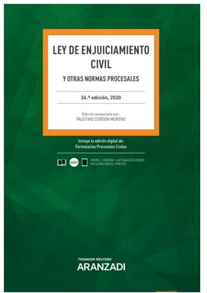LEY DE ENJUICIAMIENTO CIVIL (PAPEL + E-BOOK)