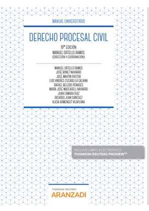 DERECHO PROCESAL CIVIL (PAPEL + E-BOOK)