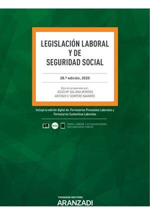 LEGISLACIÓN LABORAL Y DE SEGURIDAD SOCIAL