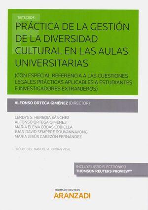 PRACTICA DE LA GESTION DE LA DIVERSIDAD CULTURAL EN LAS AULAS UNIVERSITARIAS