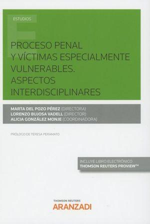 PROCESO PENAL Y VICTIMAS ESPECIALMENTE VULNERABLES