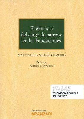 EL EJERCICIO DEL CARGO DE PATRONO EN LAS FUNDACIONES