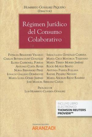 REGIMEN JURIDICO DEL CONSUMO COLABORATIVO