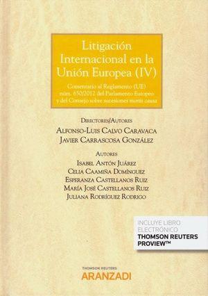 LITIGACIÓN INTERNACIONAL EN LA UNIÓN EUROPEA
