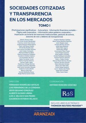 SOCIEDADES COTIZADAS Y TRANSPARENCIA EN LOS MERCADOS (2 VOL.)