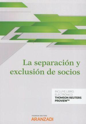 LA SEPARACION Y EXCLUSION DE SOCIOS