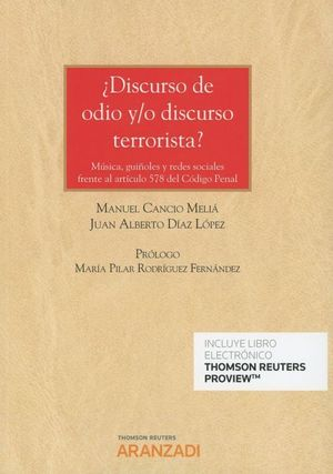DISCURSO DE ODIO Y/O DISCURSO TERRORISTA?