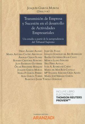 TRANSMISION DE EMPRESA Y SUCESION EN EL DESARROLLO DE ACTIVIDADES EMPRESARIALES