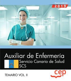AUXILIAR DE ENFERMERÍA SERVICIO CANARIO DE SALUD.  TEMARIO VOL.II