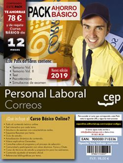 PERSONAL LABORAL DE CORREOS. PACK AHORRO. EDICIÓN 2019