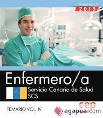 ENFERMERO/A SERVICIO CANARIO DE SALUD. TEMARIO VOL.IV