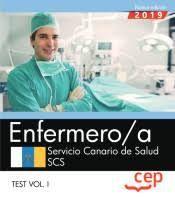 ENFERMERO/A SERVICIO CANARIO DE SALUD. TEST VOL.I
