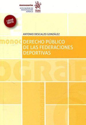 DERECHO PUBLICO DE LAS FEDERACIONES DEPORTIVAS