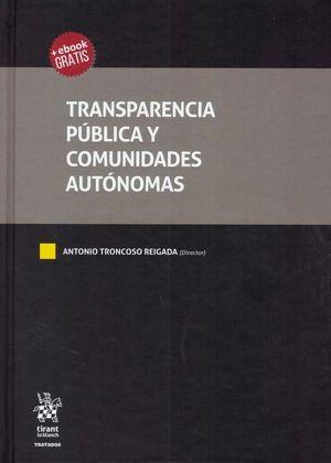 TRANSPARENCIA PÚBLICA Y COMUNIDADES AUTÓNOMAS