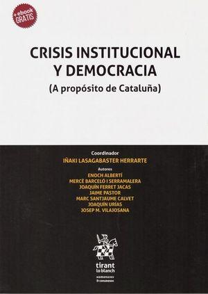CRISIS INSTITUCIONAL Y DEMOCRACIA