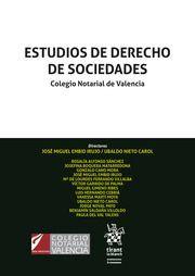 ESTUDIOS DE DERECHO DE SOCIEDADES