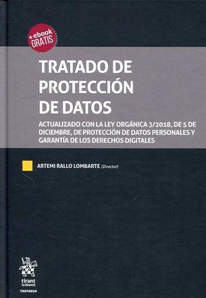 TRATADO DE PROTECCION DE DATOS
