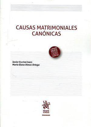 CAUSAS MATRIMONIALES CANONICAS