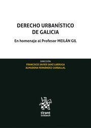 DERECHO URBANISTICO DE GALICIA