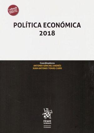 POLITICA ECONOMICA 2018