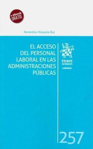 EL ACCESO DEL PERSONAL LABORAL EN LAS ADMINISTRACIONES PÚBLICAS