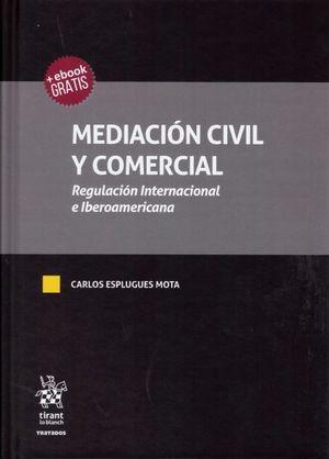 MEDIACION CIVIL Y COMERCIAL. REGULACION INTERNACIONAL E IBEROAMERICANA