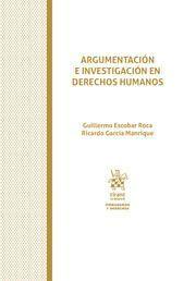 ARGUMENTACION E INVESTIGACION EN DERECHOS HUMANOS