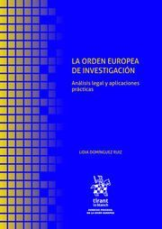 LA ORDEN EUROPEA DE INVESTIGACION