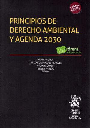 PRINCIPIOS DE DERECHO AMBIENTAL Y AGENDA 2030