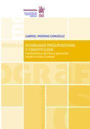 ESTABILIDAD PRESUPUESTARIA Y CONSTITUCION