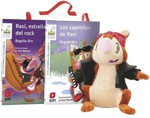 PACK DE RASI ROCKERA - LOS CABRICHOS DE RASI / ESTRELLA DEL ROCK + MUÑECO