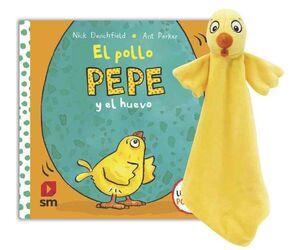 PACK ¨- POLLO PEPE Y HUEVO + MUÑECO