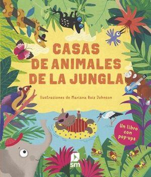 CASAS DE ANIMALES DE LA JUNGLA