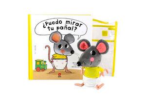 PACK - PUEDO MIRAR TU PAÑAL +  MUÑECO
