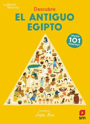 DESCUBRE EL ANTIGUO EGIPTO. 101 PEGATINAS
