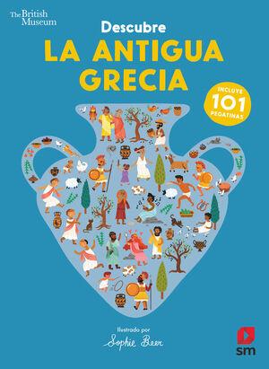 DESCUBRE LA ANTIGUA GRECIA. 101 PEGATINAS