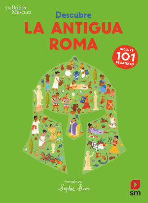 DESCUBRE LA ANTIGUA ROMA. 101 PEGATINAS