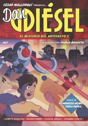 DAN DIESEL 1 EL MISTERIO DEL ARTEFACTO C