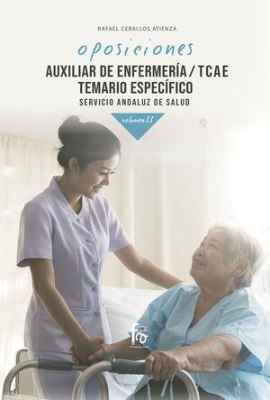 OPOSICIONES AUXILIAR DE ENFERMERÍA/ TCAE. TEMARIO ESPECÍFICO