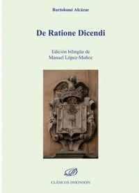 DE RATIONE DICENDI