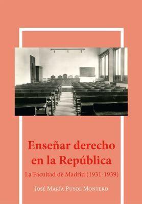 ENSEÑAR DERECHO EN LA REPUBLICA