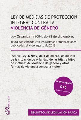 LEY DE MEDIDAS DE PROTECCION INTEGRAL CONTRA LA VIOLENCIA DE GENERO