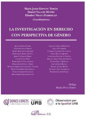 LA INVESTIGACION EN DERECHO CON PERSPECTIVA DE GENERO