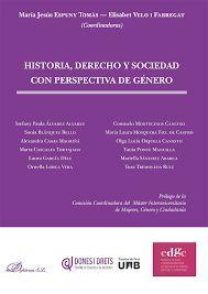HISTORIA,  DERECHO Y SOCIEDAD CON PERSPECTIVA DE GÉNERO