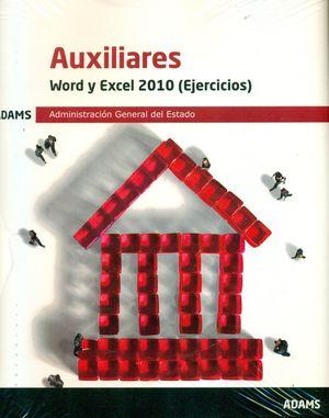 WORD Y EXCEL 2010 (EJERCICIOS) AUXILIARES DEL ESTADO 2019