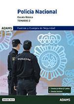 POLICIA NACIONAL. ESCALA BASICA. TEMARIO 2