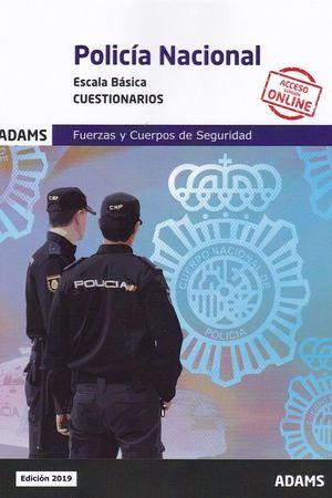 POLICIA NACIONAL. ESCALA BASICA. CUESTIONARIOS
