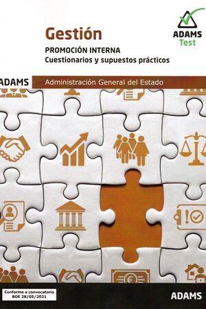 GESTION. PROMICION INTERNA. CUESTIONARIOS Y SUPUESTOS PRACTICOS